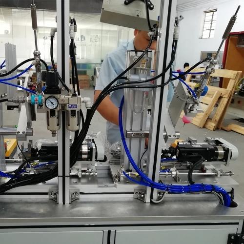 自动组装设备厂家教你解决减压阀点胶机胶量不稳定问题
